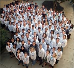 Gruppo di giovani medici