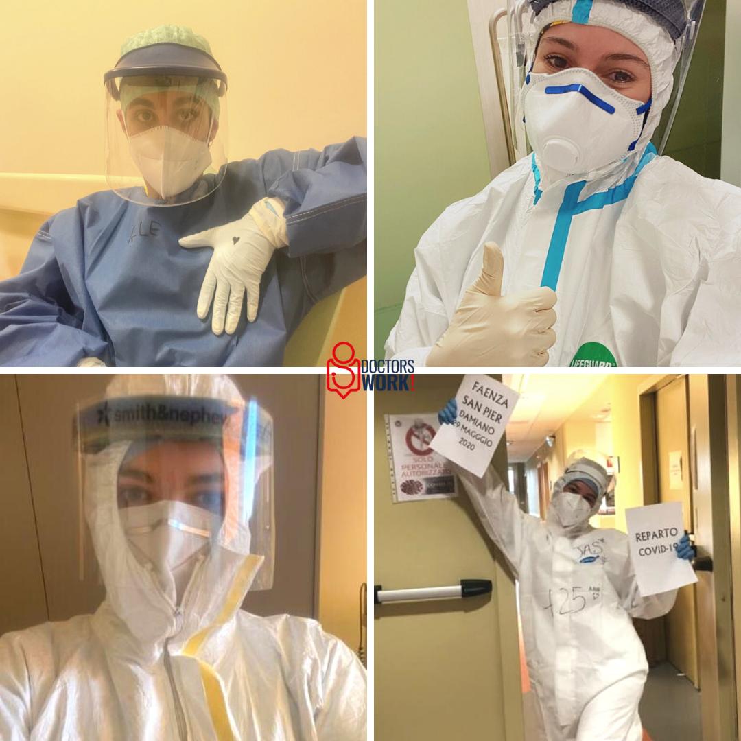 giovani infermieri Covid